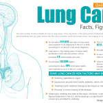 Lung Cancer Facts, Figures and Factors Infographic